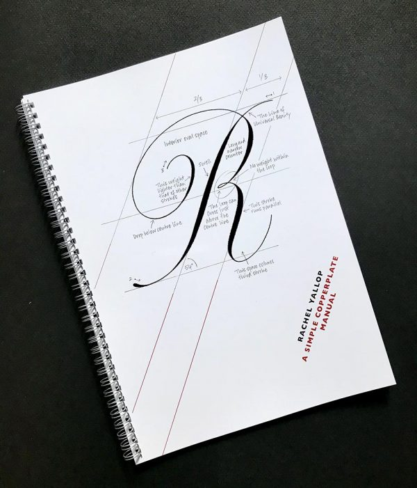 a simple copperplate manual