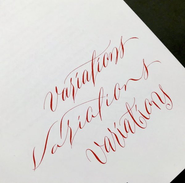 copperplate variations calligraphy book