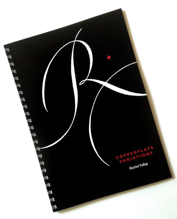 copperplate variations calligraphy lettering book