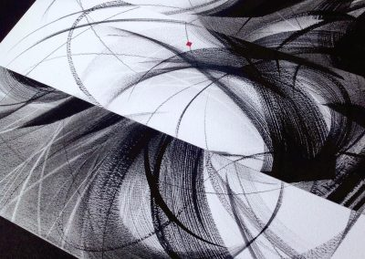 calligraphy brush work example 8