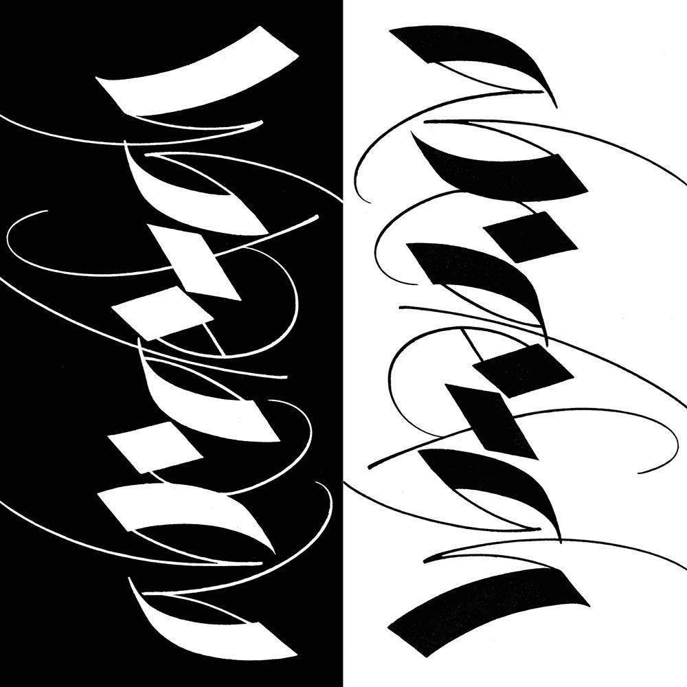 calligraphy class large italic