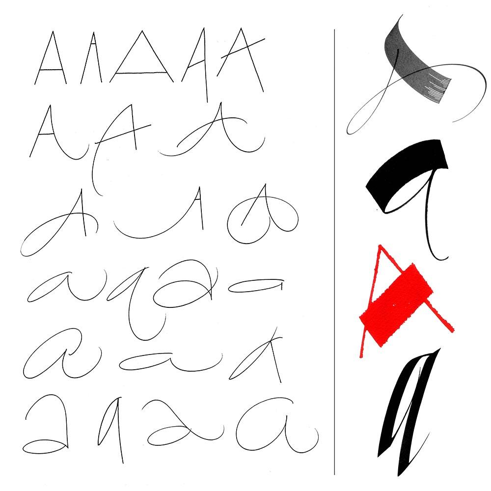 calligraphy workshop looking beyond literal line