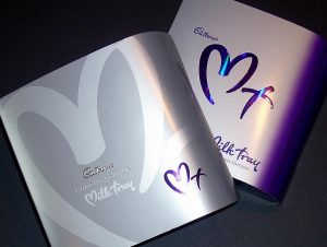 commercial calligraphy sample cadburys